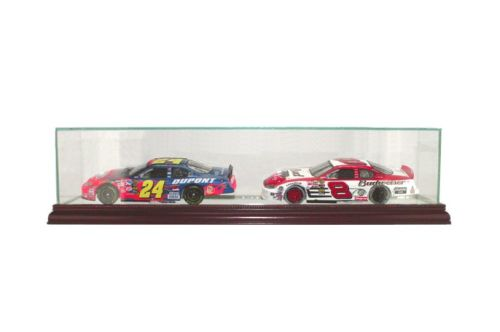 NASCAR DOUBLE CAR DISPLAY CASE